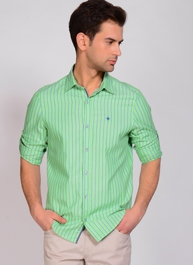 North Of Navy Gömlek Yeşil